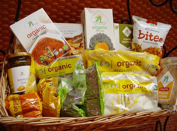 24 Letter Mantra Organic Gift Basket
