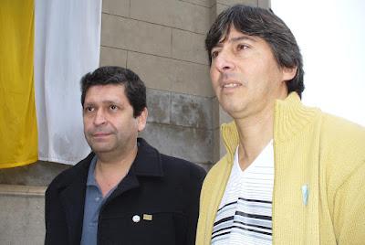 Santiago Belozo y Juan Carlos Daluisio