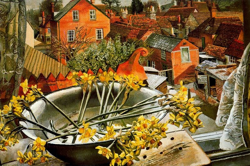 Stanley Spencer - From the Artist's Studio, 1938
