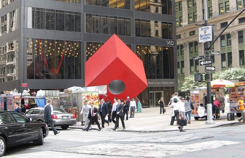 красный кубик
