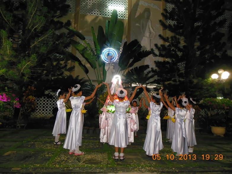 Giáo xứ Bình Cang Mừng lễ Mẹ Mân Côi: Bổn Mạng Giáo xứ