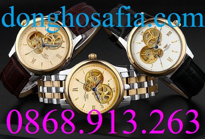 Đồng hồ nam cơ Brigada B6006G
