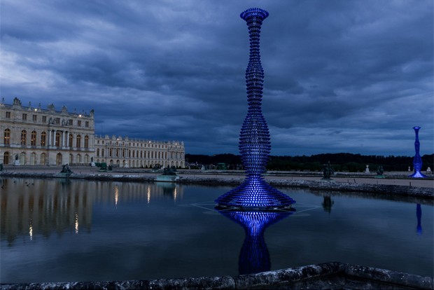 Blue Champagne by Joana Vasconcelos