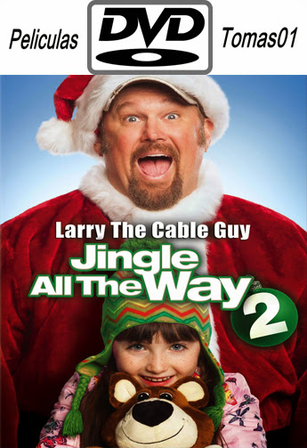 El Regalo Prometido 2 (Jingle All the Way 2/Otro Padre en Apuros) (2014) DVDRip