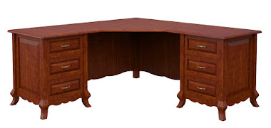 Orleans L-Shaped Desk