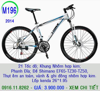 XE ĐẠP THỂ THAO, xe dap the thao, xe dap trinx, xe đạp thể thao chính hãng, xe dap asama,  M196 2014