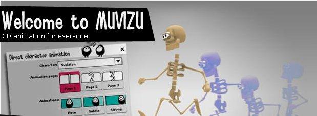 Muvizu – Software para hacer animaciones en 3D fácilmente