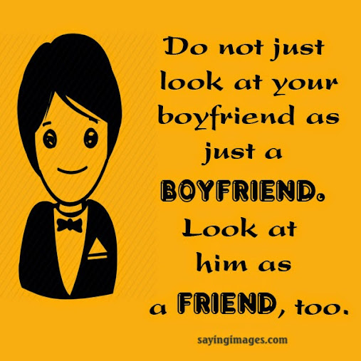 boy friend quotes and sayings
