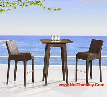 Outdoor Wicker Bar Set Minh Thy 813