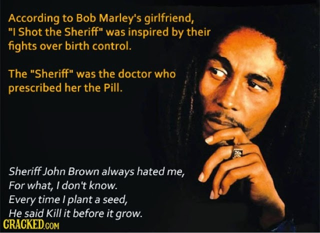 """nothing less than ordinary: Meaning to bob Marley's """"I ..."""