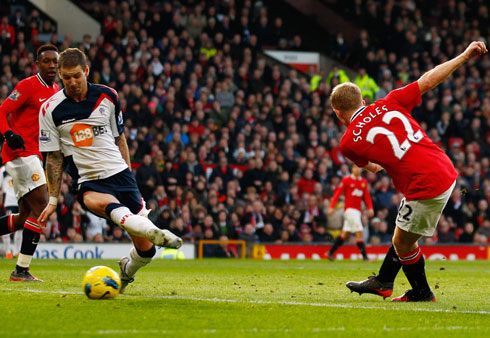 Paul Scholes, Manchester United - Bolton