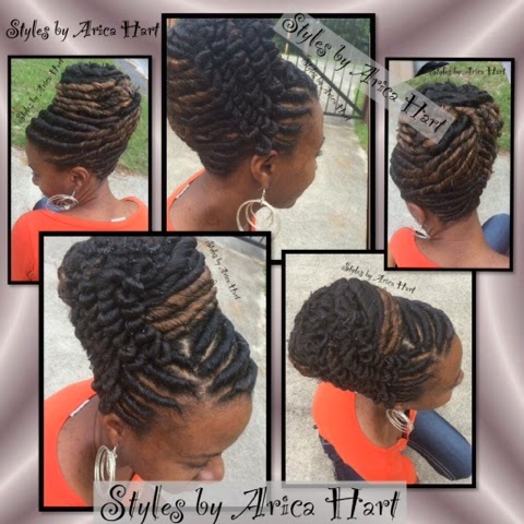 Stuffed twist hair styles for those low maintenance days