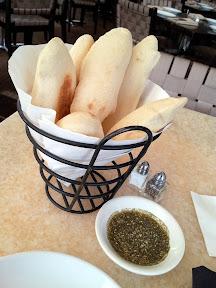 Baltimore Lebanese Taverna pita bread