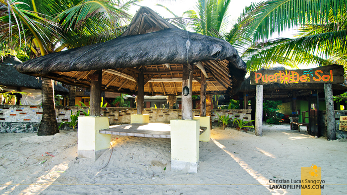 Cogon Huts at Bolinao's Puerto del Sol