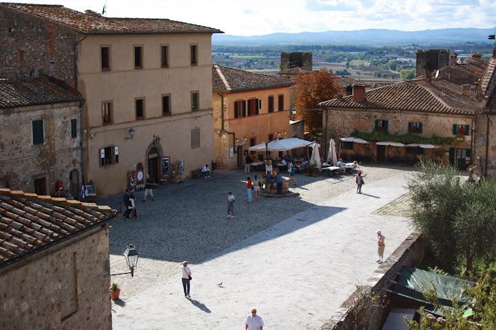 Monteriggioni Sciena Tuscany Italy