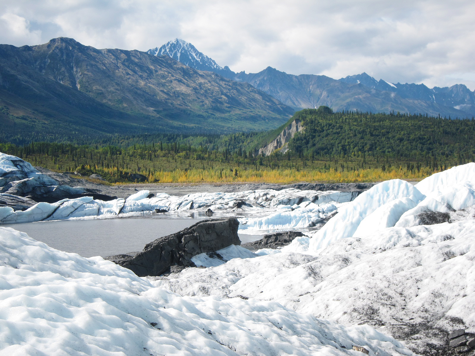 Matanuska glacier, Anchorage