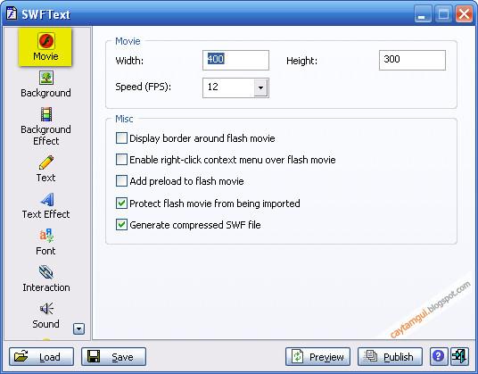 Hướng dẫn sử dụng AntsSoft SWF Text 1.4