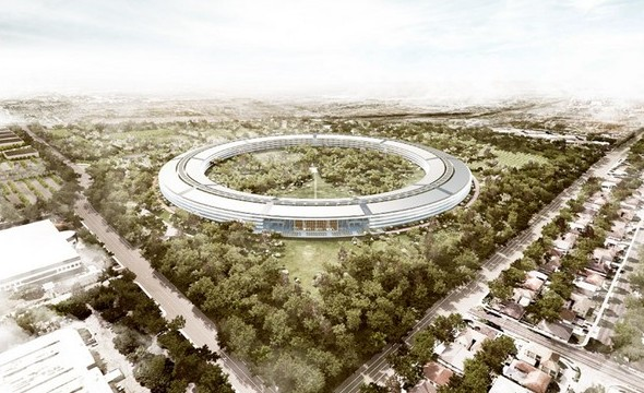 New Apple Office Designed by Norman Foster