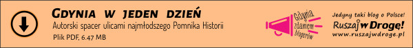 Pobierz darmową mapkę szlaku ulicami gdyńskiego Pomnika Historii