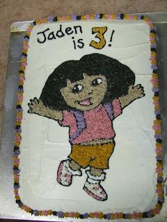 Dora Birthday Party Cake
