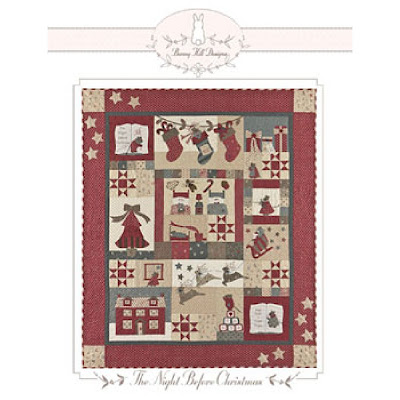 Bunny Hill Designs THE NIGHT BEFORE CHRISTMAS Quilt Pattern