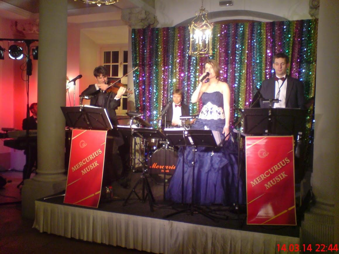 Tanzband Mercurius-Musik Dresden von Christoph Geibel beim 20. Operettenball Dresden 2014