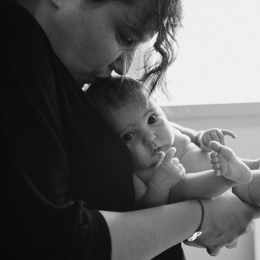 reportaje de fotos de primer año de vida