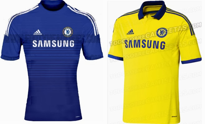 100% authentic 5b5b7 291f9 Chelsea 2014-2015 Home Away Kits Leaked – Timix Patch