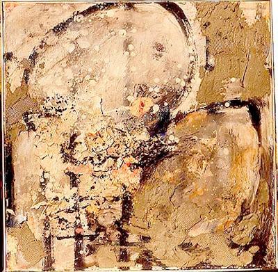Titre à faire (fragile), 1997-98 80 x 80 cm, t.m. sur toile