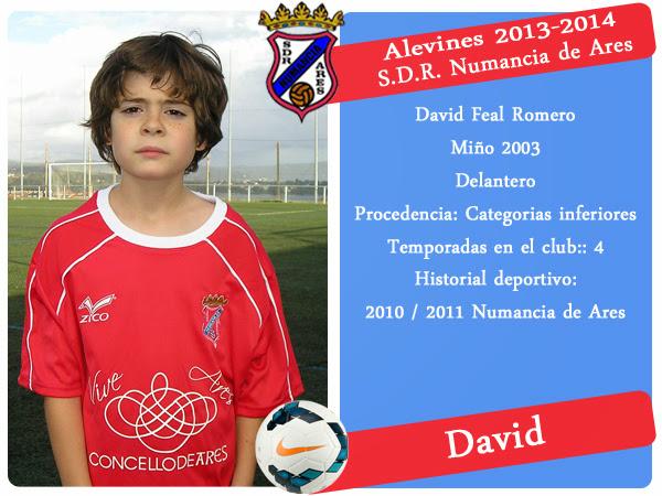 ADR Numancia de Ares. DAVID