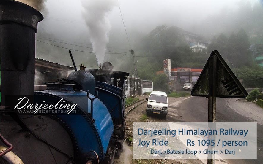 Darjeeling himalayan railway, joy ride, darjeeling toy train