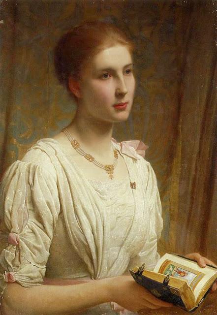 Charles Edward Perugini - Miss Helen Lindsay