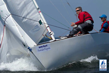 J/22 one-design sailboat- sailing North Sea Regatta