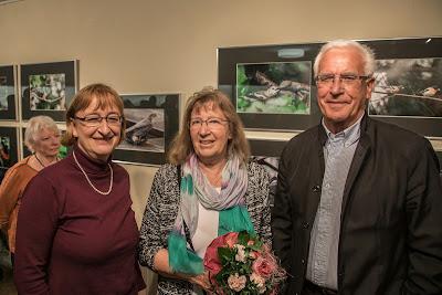 Maren Arndt, Dr. Karen Hammer und Karl-Heinz Marg