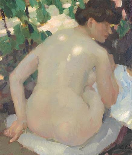 Leo Putz – Nude
