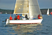 J/29 sailboat- sailing Vashon Island Race Seattle