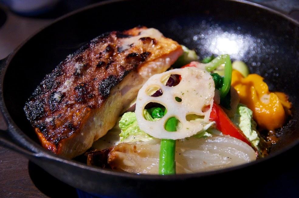 オーブン焼きサラダ&特選素材・魚