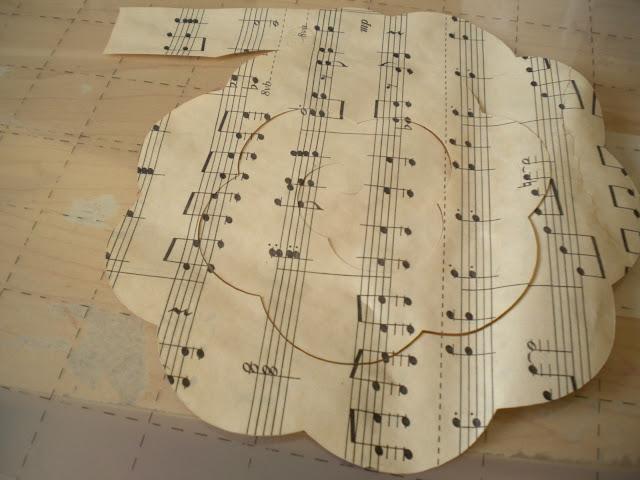 Sheet music roses tutorial my girlish whims for Paper roses sheet music free
