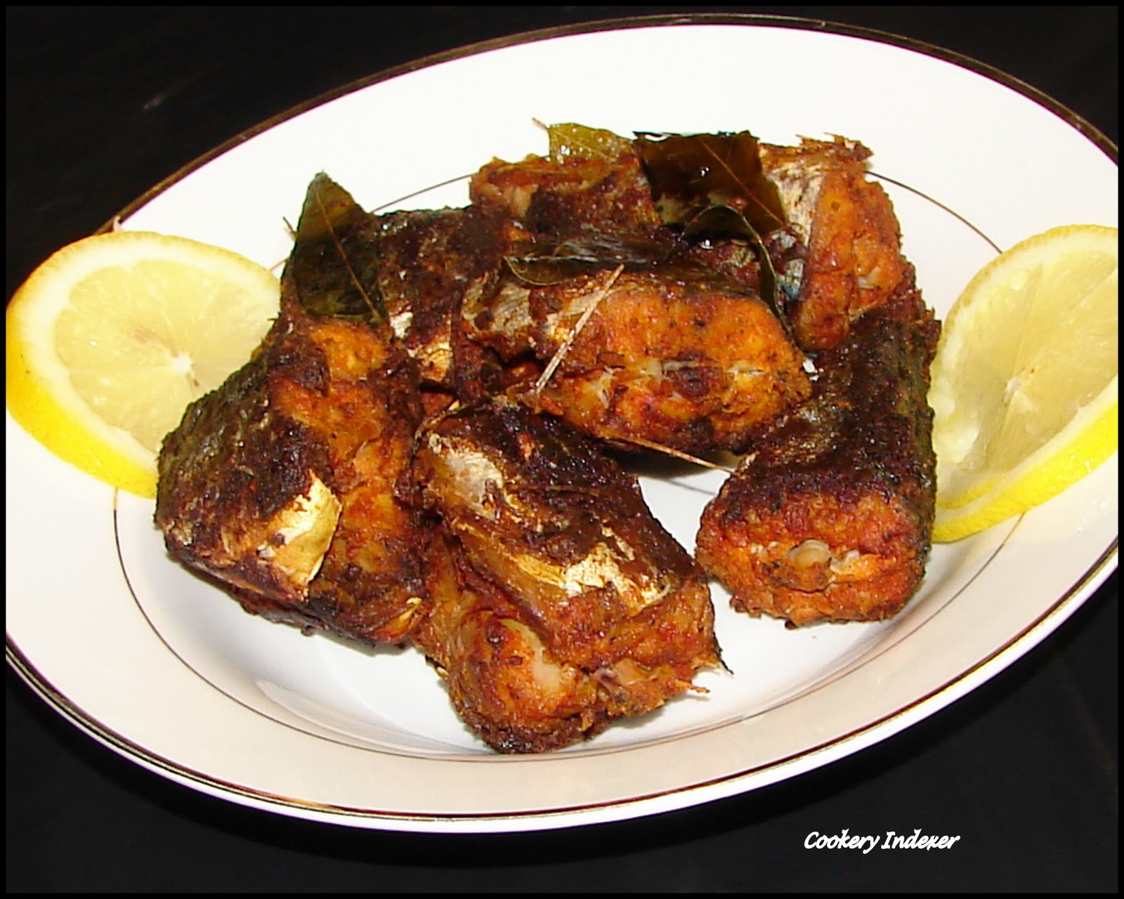Regional Indian Cuisine Blogroll !: Mackerel / Ayala Fry (Kerala ...
