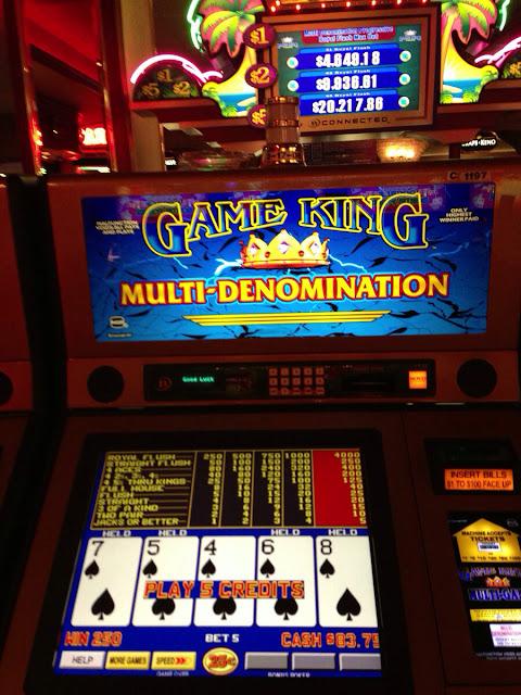 California Hotel and Casino Straight Flush