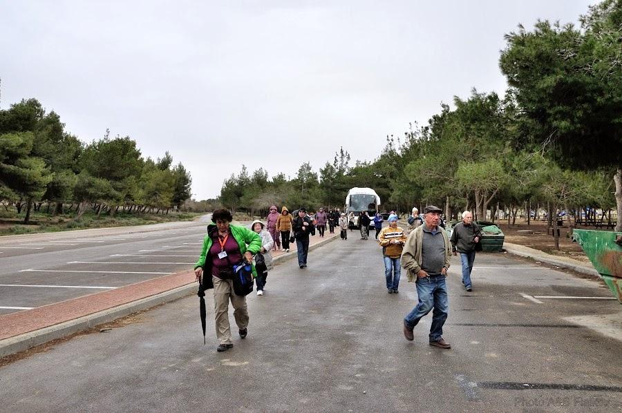 Мы приехали в город Йерухам. Экскурсия гида Светланы Фиалковой в пустыню Негев.