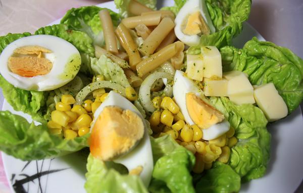 mampf dich gesund salat die frische beilage. Black Bedroom Furniture Sets. Home Design Ideas