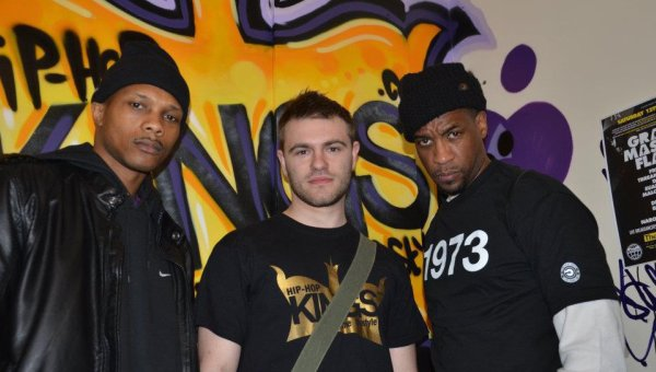 Me, Masta Ace and Wordsworth