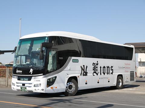 西鉄高速バス「Lions Express」 8546
