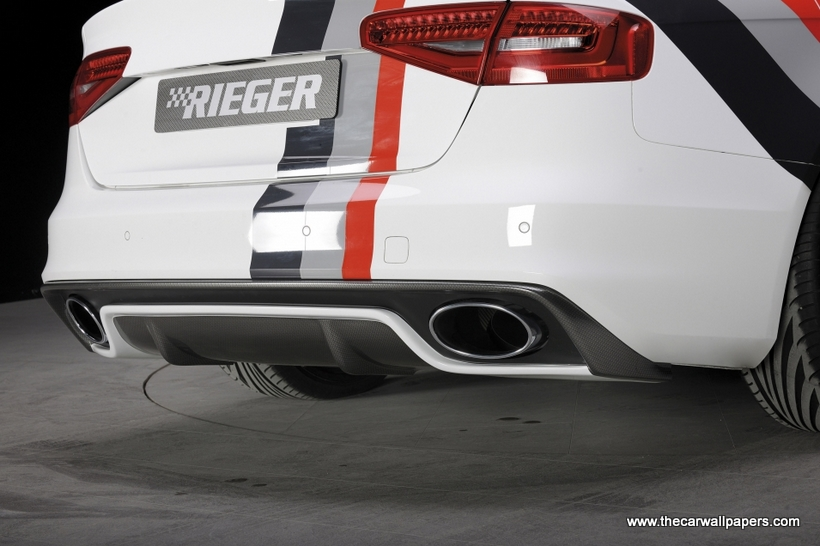 Audi A4 Rieger Tuning RS 5 Design