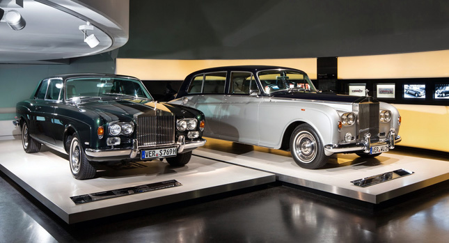 bmw museum in munich hosts first ever rolls royce exhibition. Black Bedroom Furniture Sets. Home Design Ideas