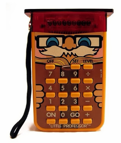 Little Professor calculator! I love the 80's www.thebrighterwriter.blogspot.com