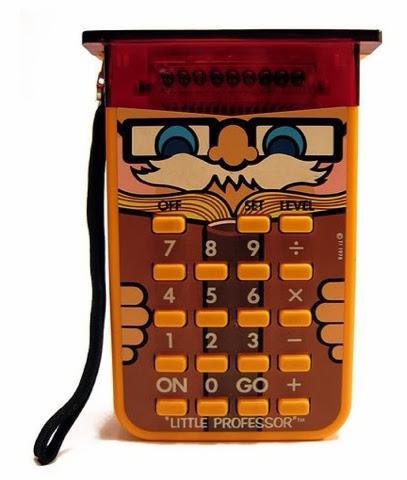 Little Professor calculator! I love the 80's www.thebrighterwriter.blogspot.com