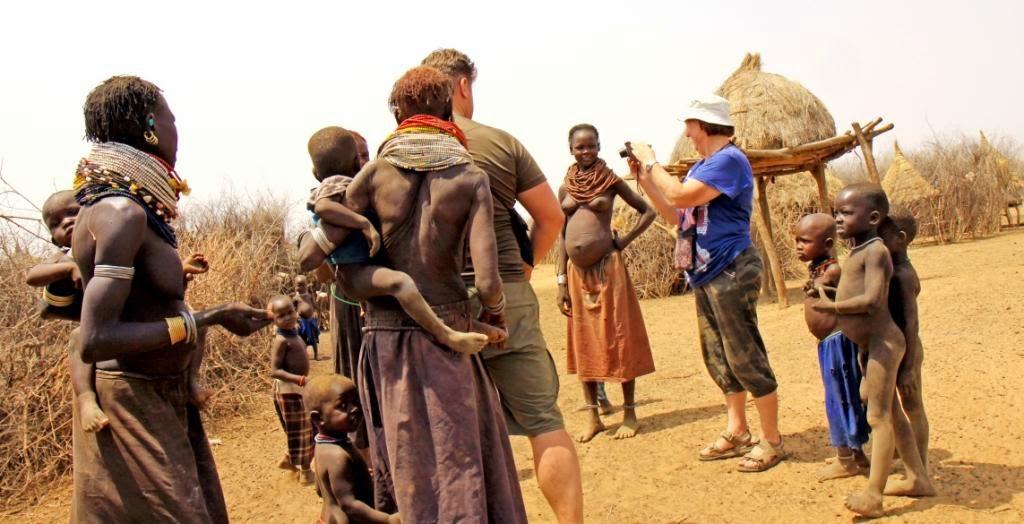 Pietu Etiopijos gentys