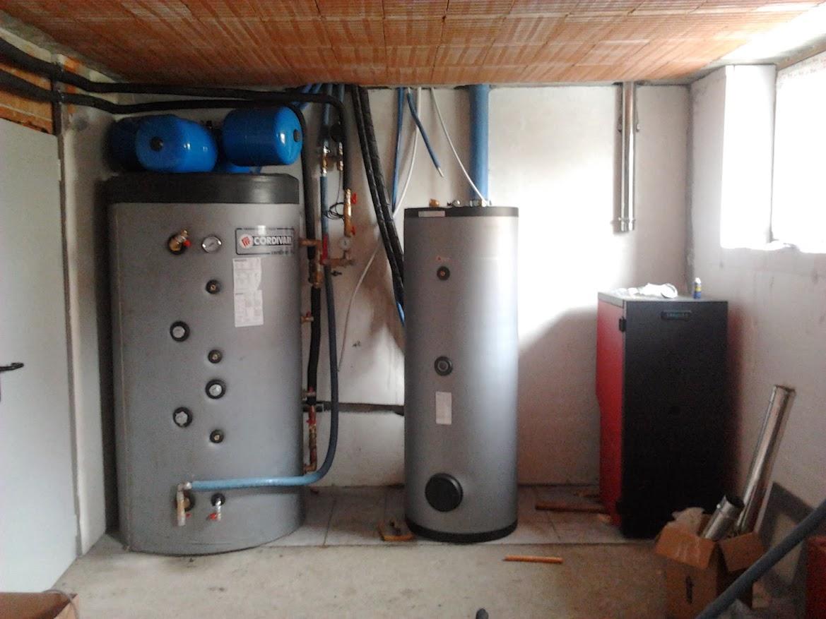 Vaso espansione per impianto con puffer e termocamino - Montaggio termocamino ...